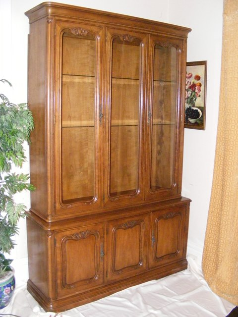 Antique Henredon China Cabinet For Sale Antiques Com