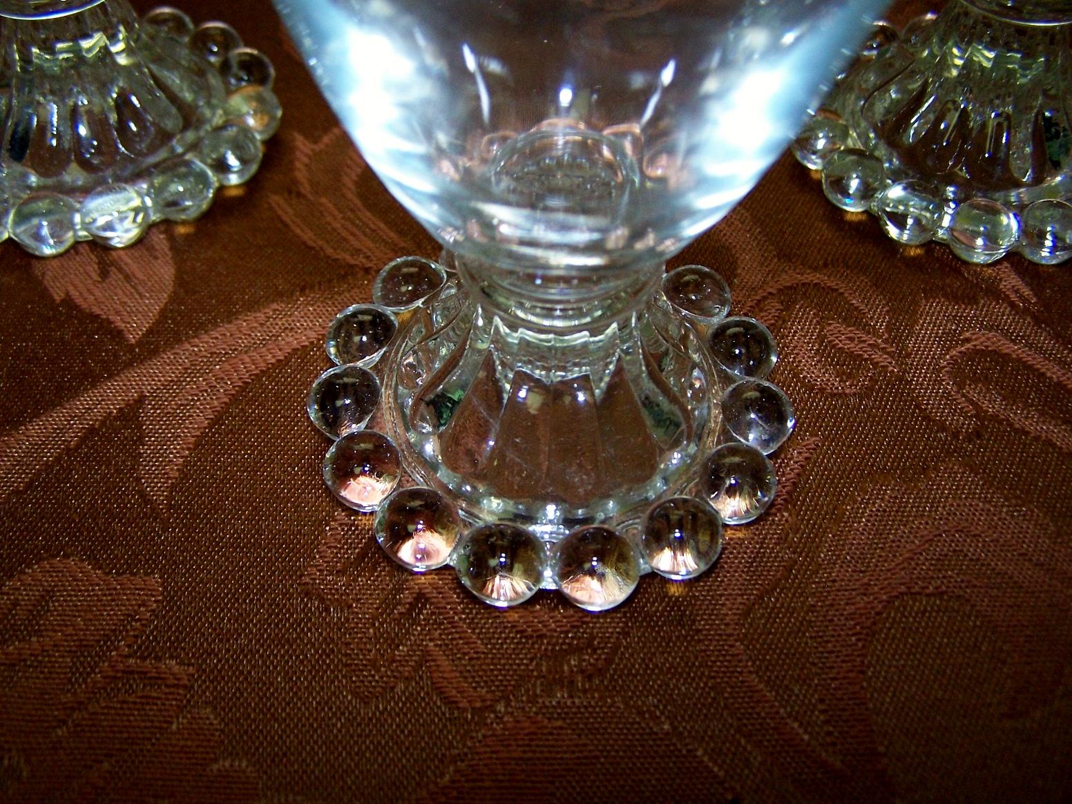 Vintage Imperial Glass Candlewick Pattern Juice Parfait ...