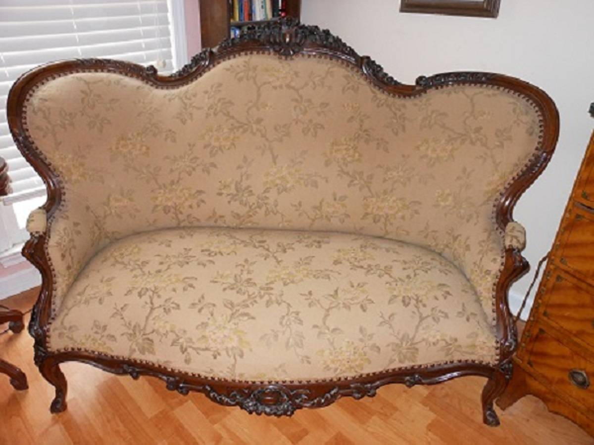 Antique Sofa Settee Different For Sale