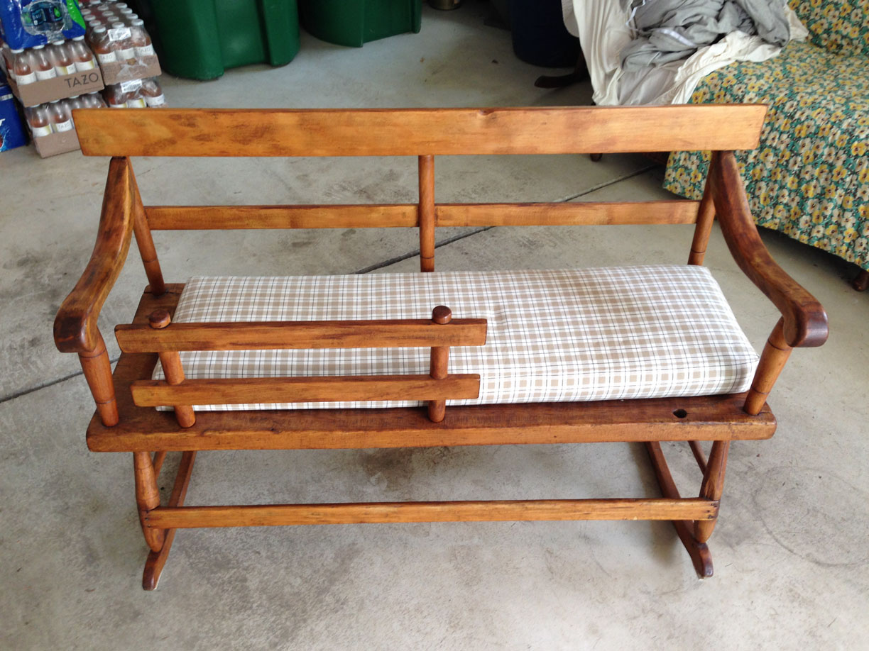 Antique Mammy 39 S Bench Or Settee For Sale Classifieds