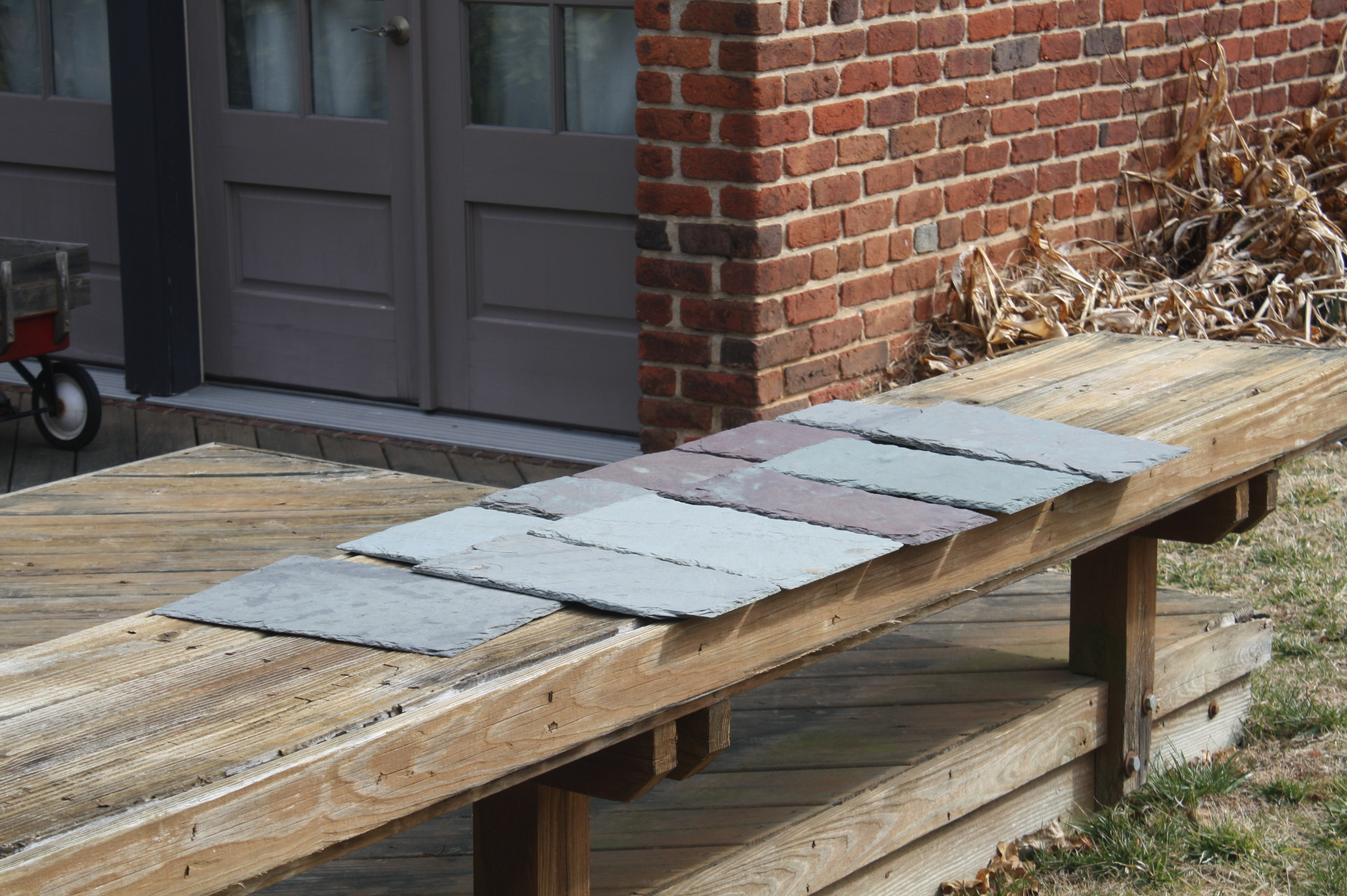 1 400 Sqft Of Vermont Slate Roof Tiles For Sale Antiques