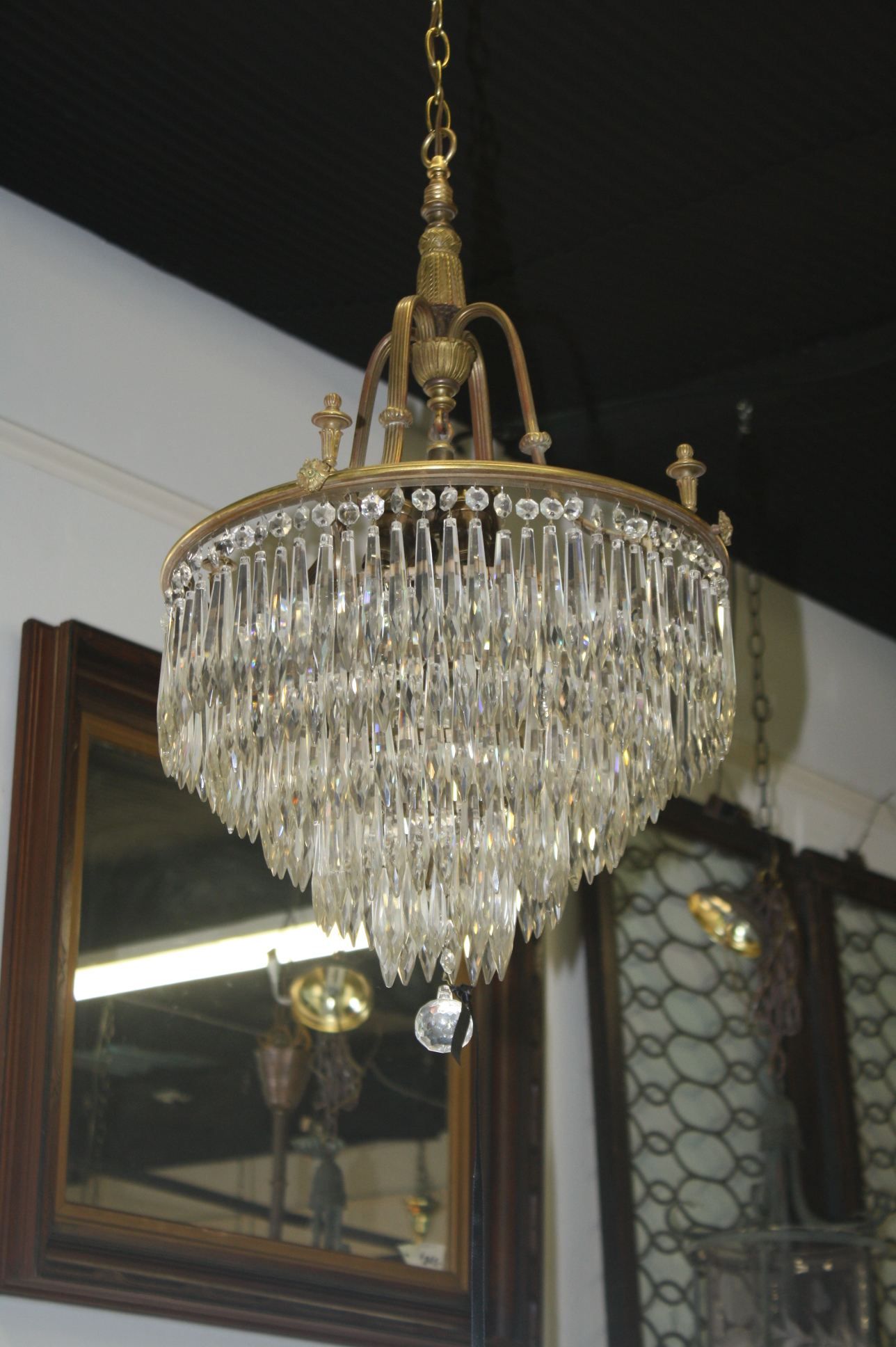 Antique lead crystal chandelier chandelier designs antique lead crystal chandeliers chandelier designs aloadofball Image collections