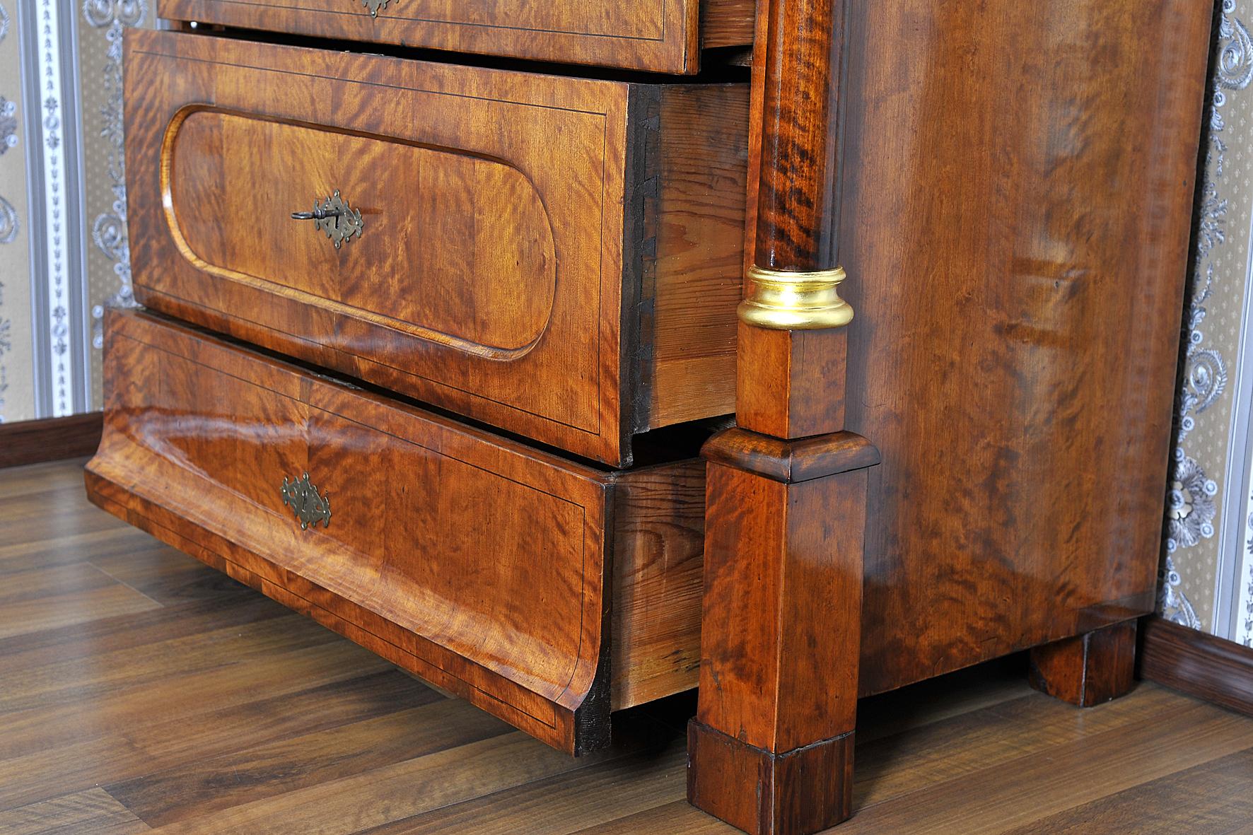 biedermeier secretary berlin 1825 for sale classifieds. Black Bedroom Furniture Sets. Home Design Ideas