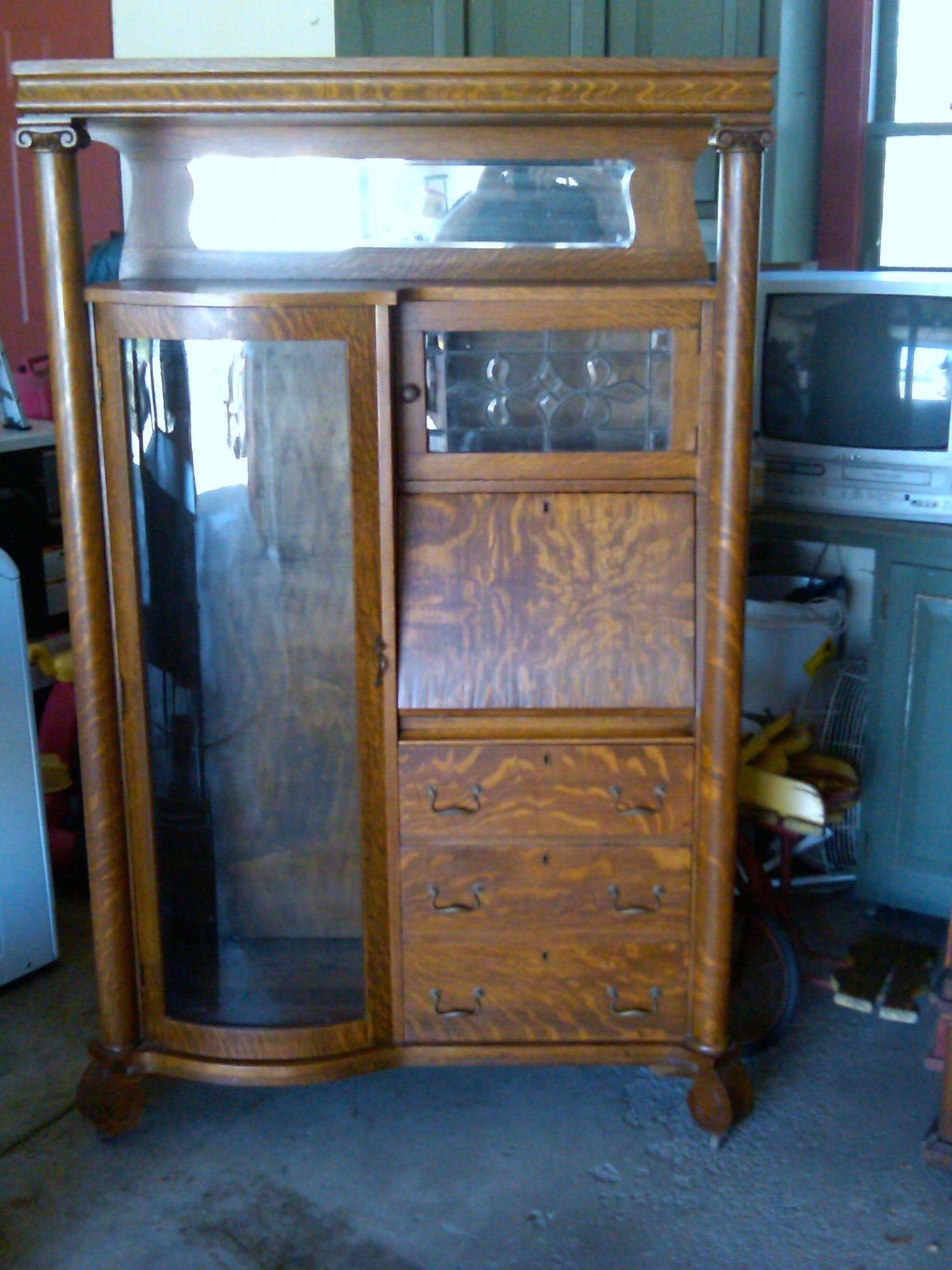 larkin secretary for sale antiques com classifieds rh antiques com larsen furniture denmark larson furniture uk
