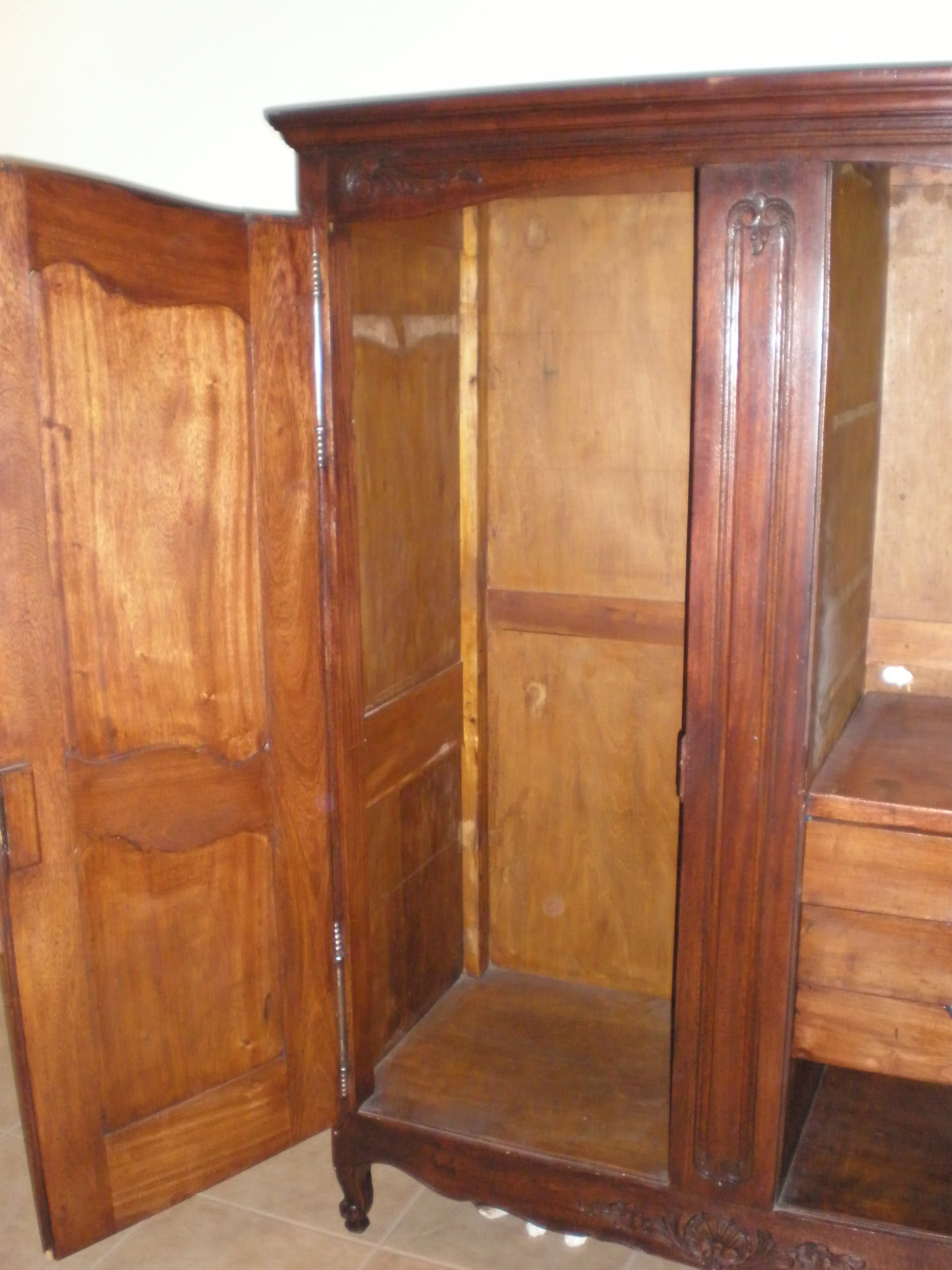 antique furniture armoire. enlarge photo antique furniture armoire n