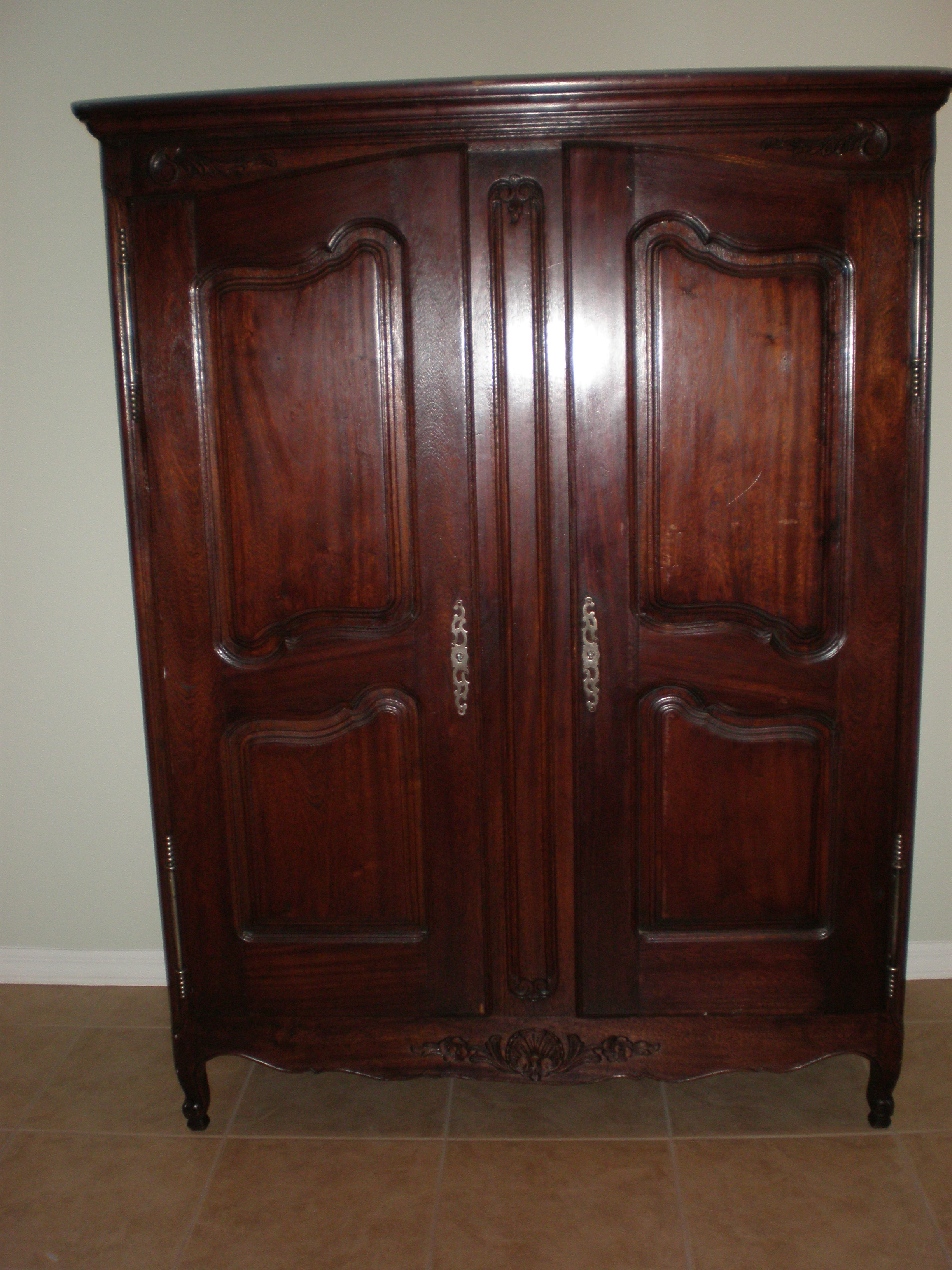 Beautiful antique armoire looking for a new home for sale for Looking for furniture