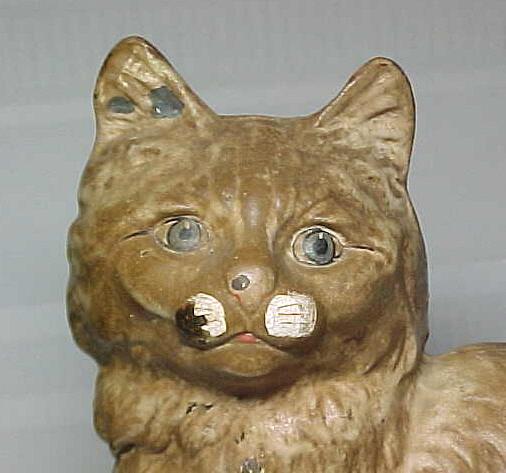 Hubley mfg company persian cat doorstop cast iron for sale classifieds - Cast iron cat doorstop ...