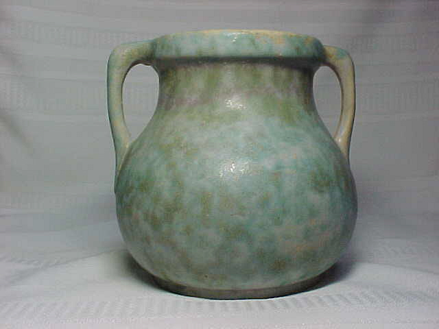 Burley Winter Pottery Double Handled Vase Pastels For Sale