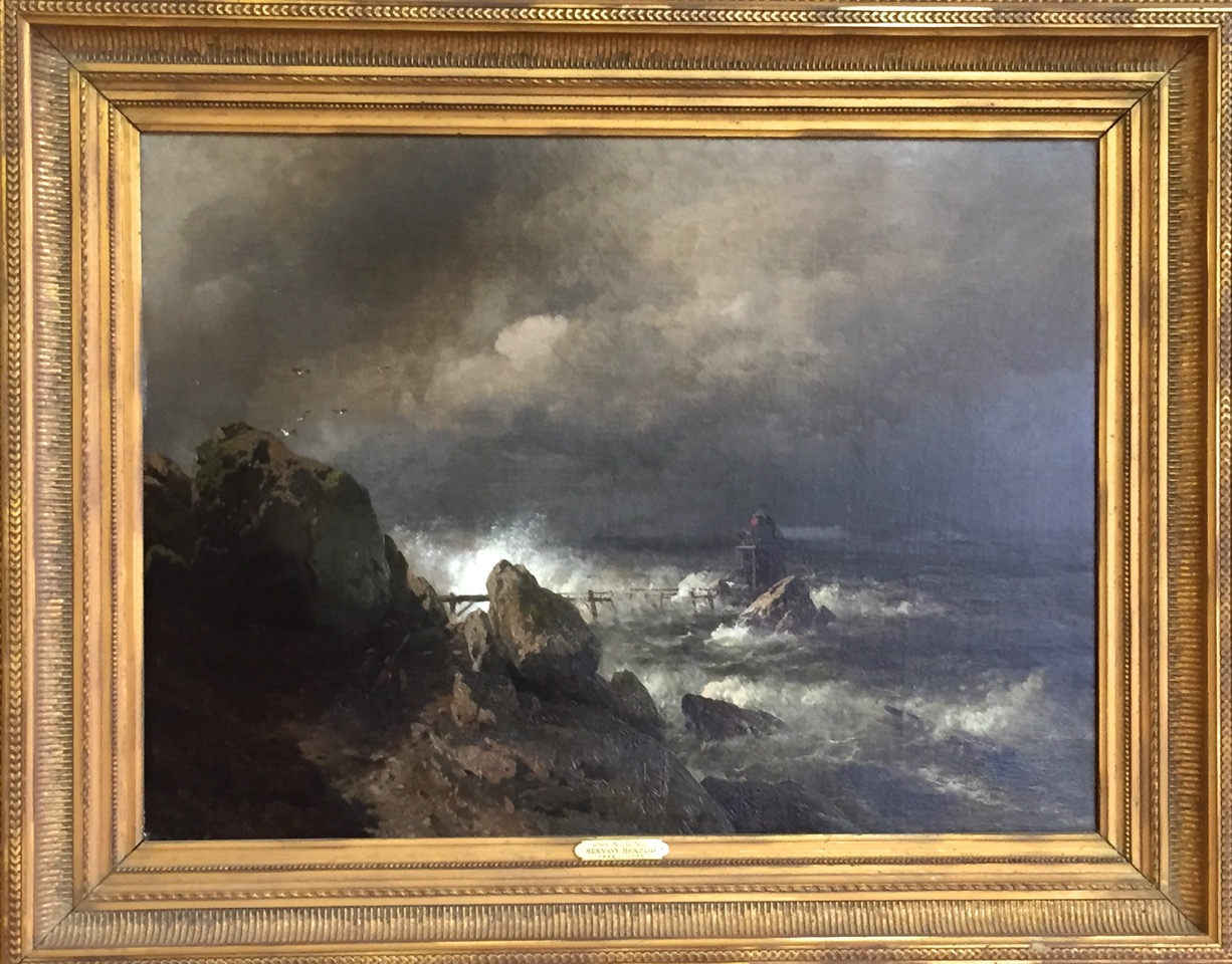 Hermann herzog original 19th century oil painting for sale for Prints of famous paintings for sale