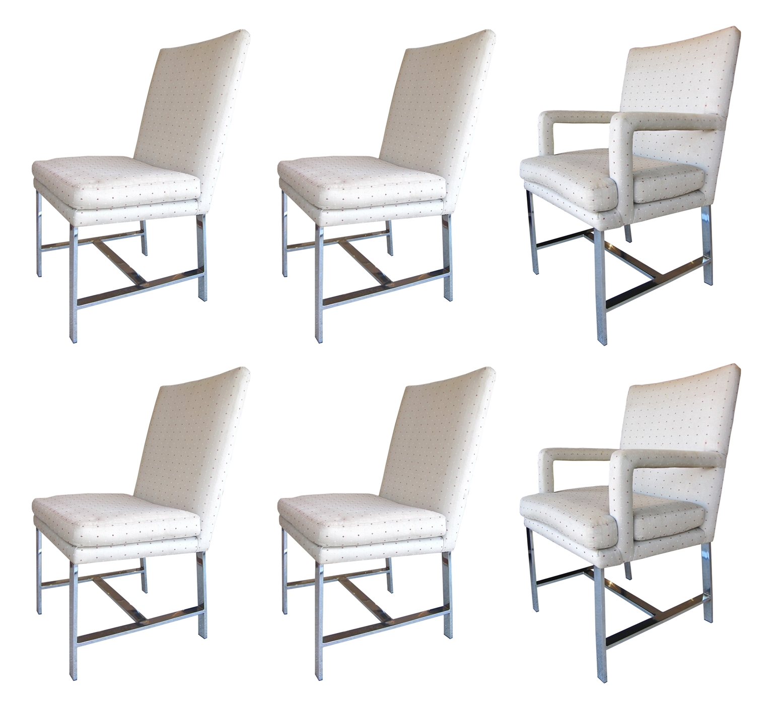 Paul Evans For Directional Set Of Six (6) Dining Chairs   For Sale