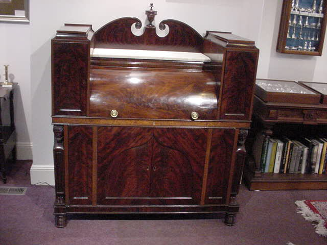 Cylinder desk (Baltimore) circa 1830 - For Sale - Cylinder Desk (Baltimore) Circa 1830 For Sale Antiques.com
