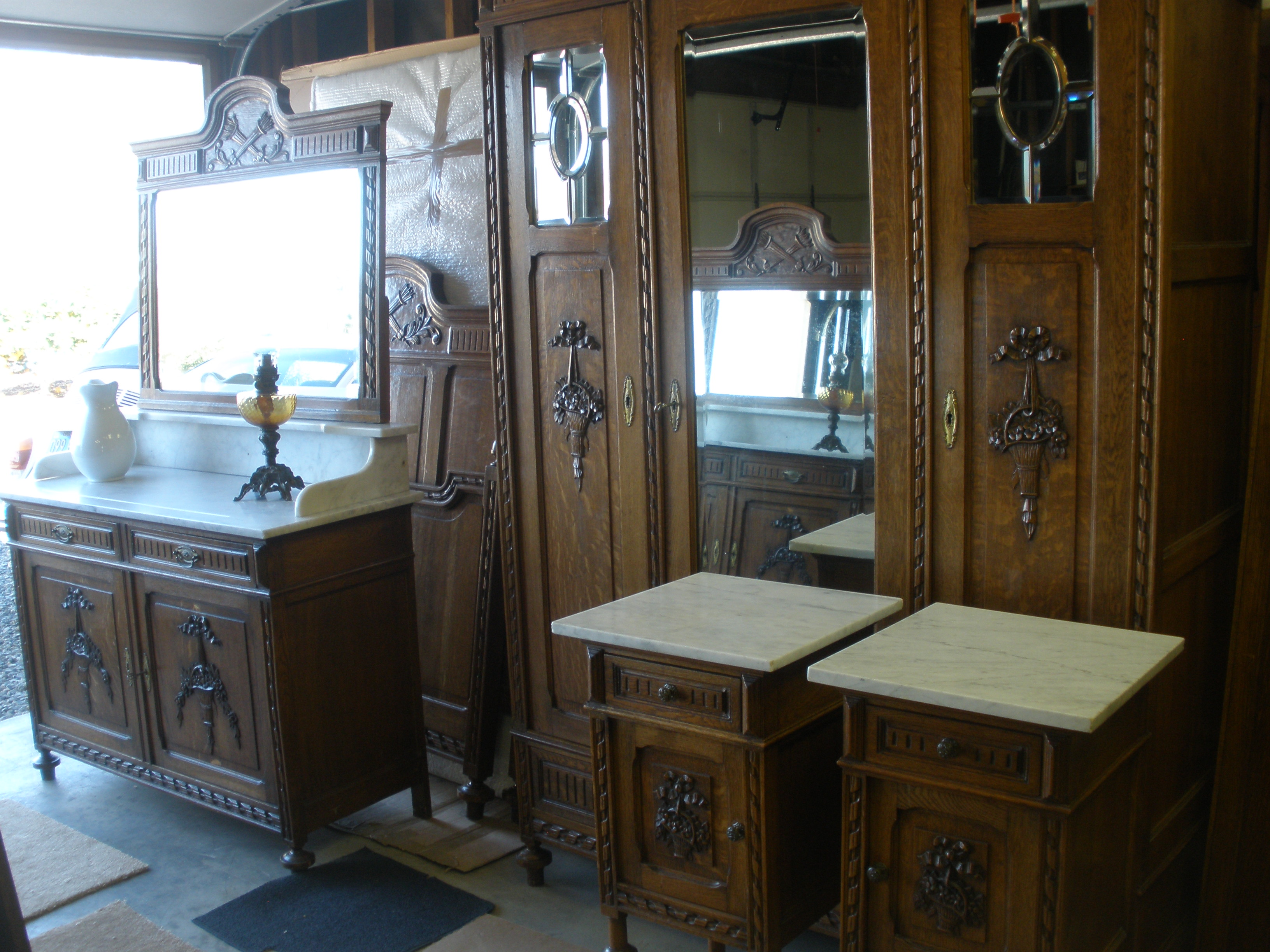 6 Piece Antique French Bedroom Set For Sale Antiques