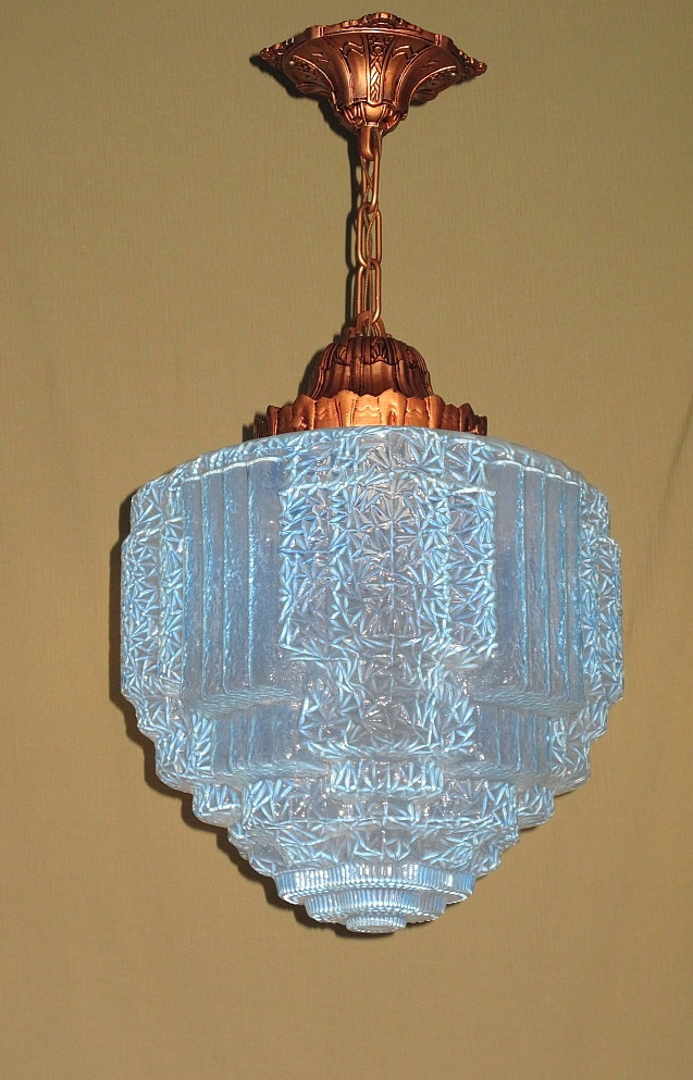 art deco lighting art deco lights for sale antiques. Black Bedroom Furniture Sets. Home Design Ideas