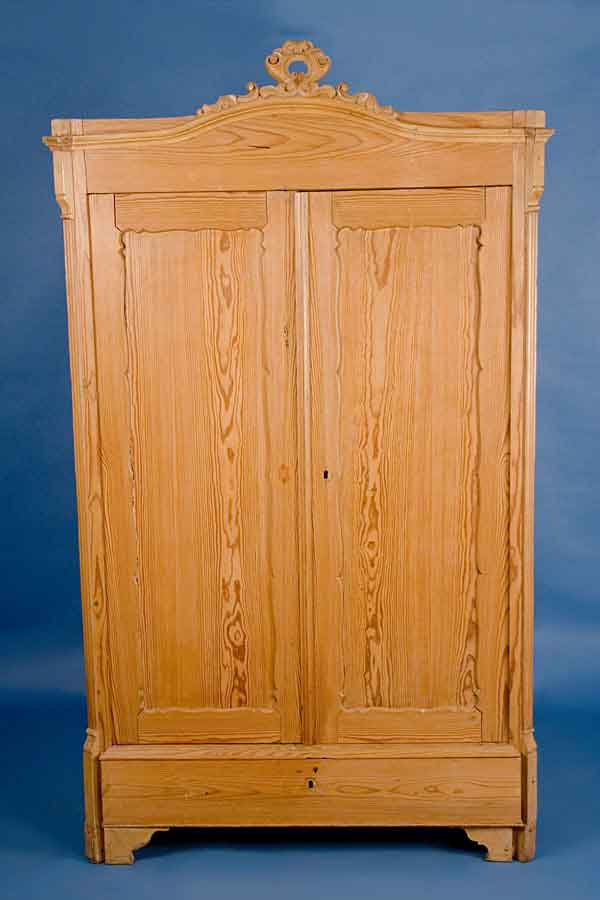 antique french solid pine armoire for sale. Black Bedroom Furniture Sets. Home Design Ideas