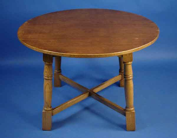 antique round oak dining table for sale classifieds