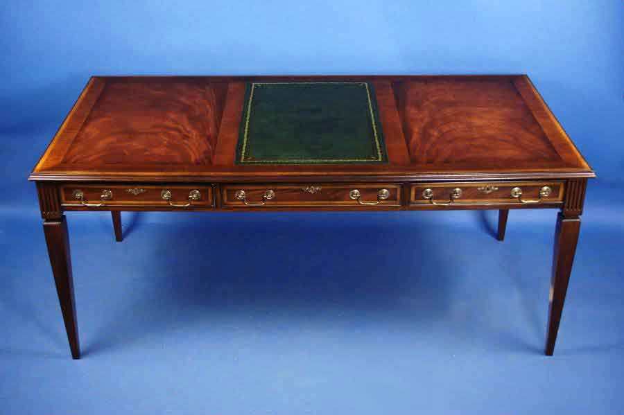 Antique Style Mahogany Writing Desk - For Sale - Antique Style Mahogany Writing Desk For Sale Antiques.com