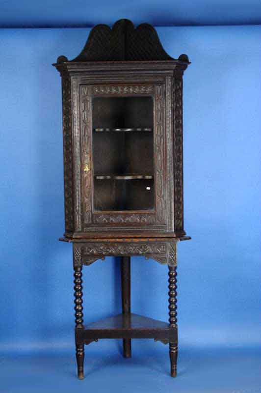 Antique Victorian Corner Cabinet - For Sale - Antique Victorian Corner Cabinet For Sale Antiques.com Classifieds