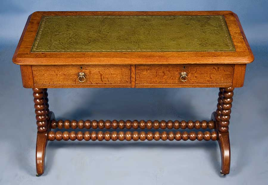 circa: 1890 width: 42 height: 28.75 length: 20.75 This gorgeous antique oak  writing desk was handmade in Victorian England around 1890. - Antique Victorian Oak Writing Desk For Sale Antiques.com Classifieds