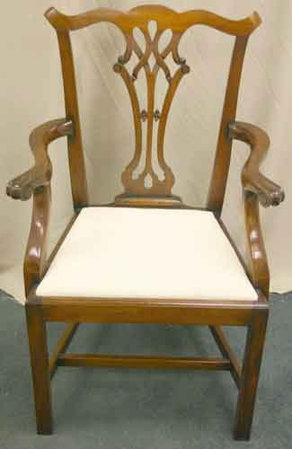 chippendale mahogany dining chairs for sale antiques