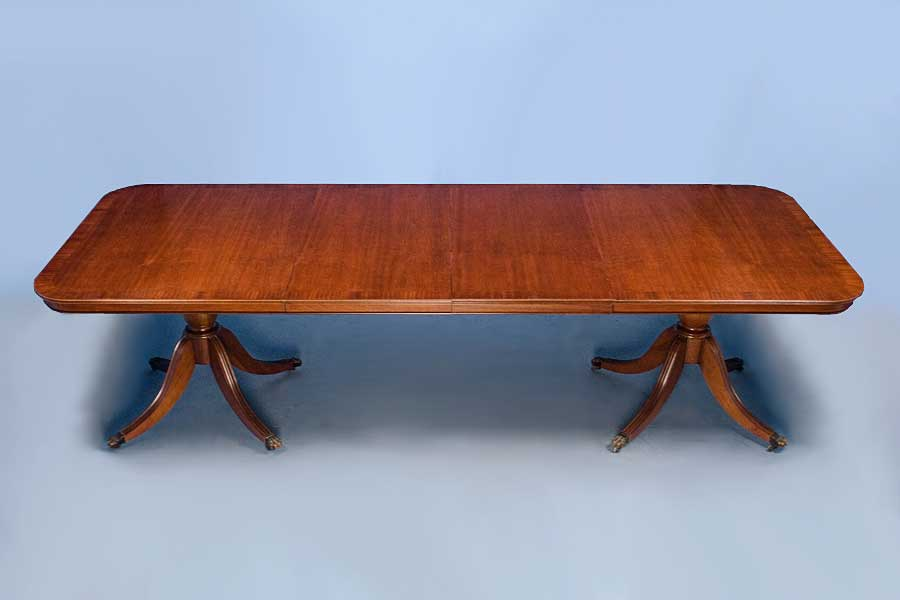 Dining Table English Mahogany Dining Table