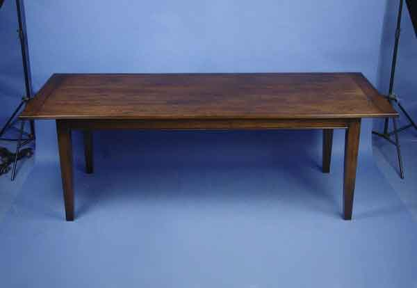 English Cherry Farmhouse Dining Table