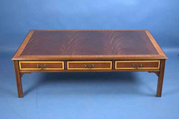 English Mahogany Coffee Table For Sale Classifieds