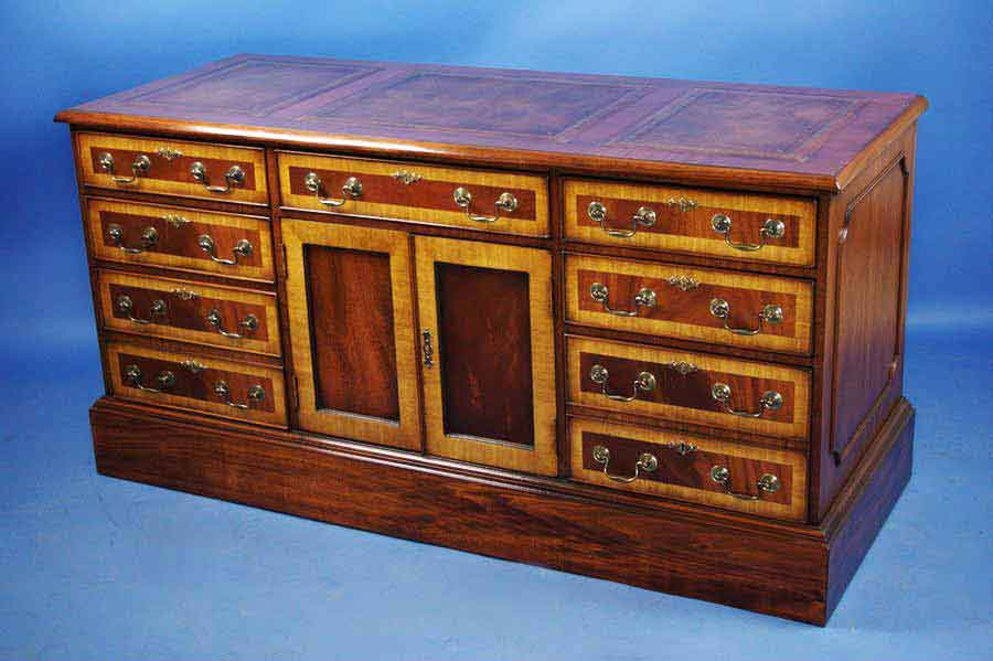 English Mahogany Office Credenza For Sale Antiques Com