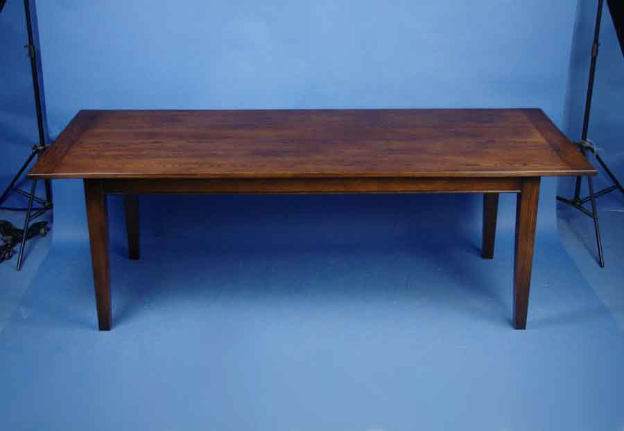 English Oak Farmhouse Dining Table For Sale Antiques