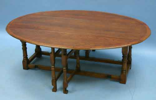 Circa 2000 Width 59 Height 20 Length 17 This Antique Style Gateleg Coffee Table Is Handmade In England From Solid Wood By A Team Of Master Craftsmen