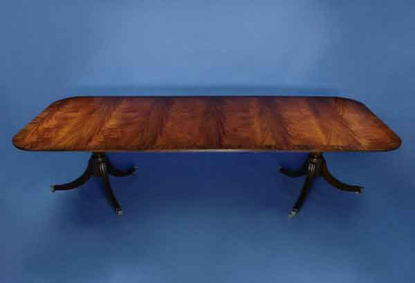 Mahogany Pedestal Conference Table For Sale Antiquescom Classifieds - England conference table