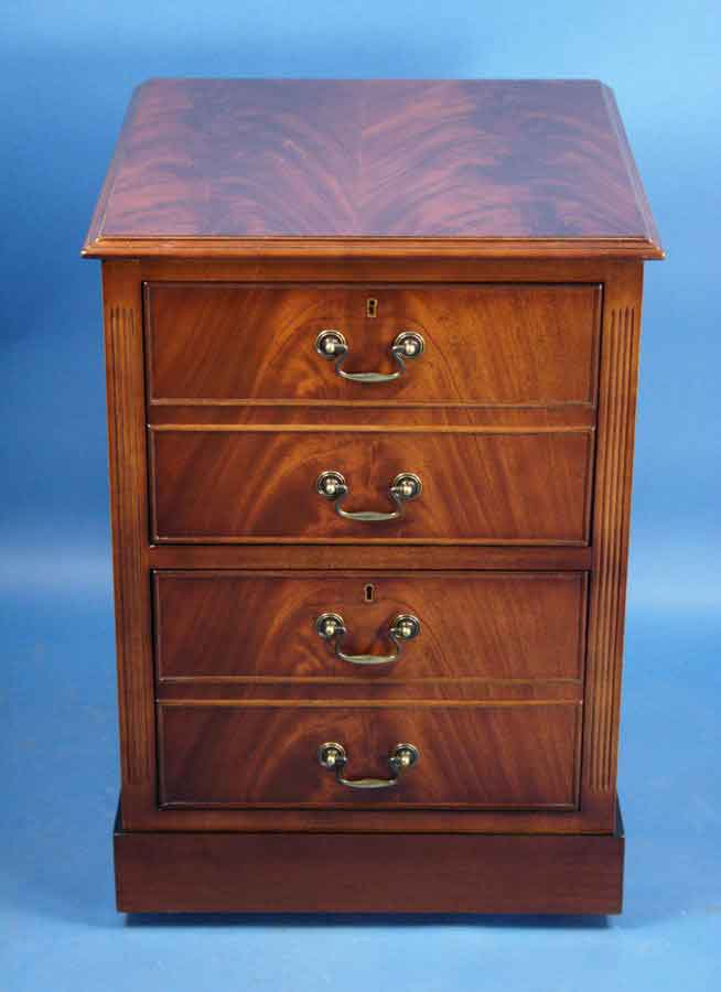 Mahogany two drawer file cabinet for sale for Kitchen drawers for sale