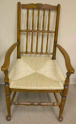 Oak Spindle Dining Chairs ~ Oak spindle back dining chairs for sale antiques