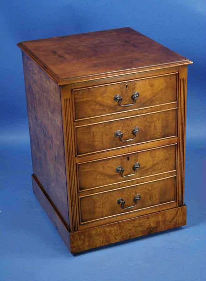 Walnut two drawer file cabinet for sale for Kitchen drawers for sale