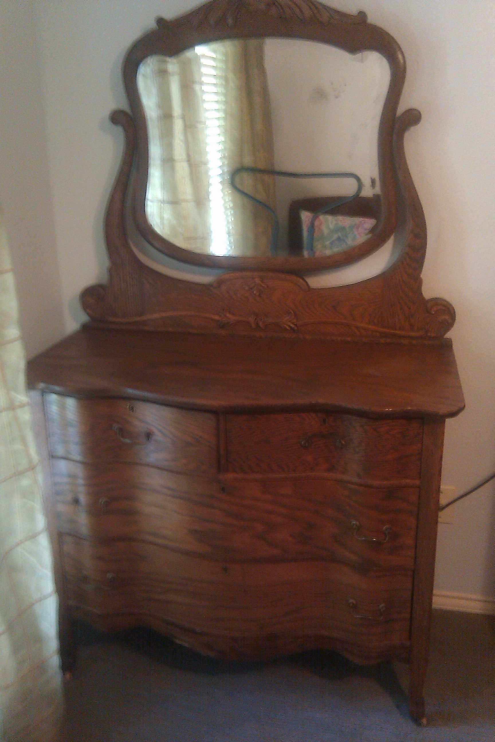 Dresser With Mirror For Sale Antiques Com Classifieds