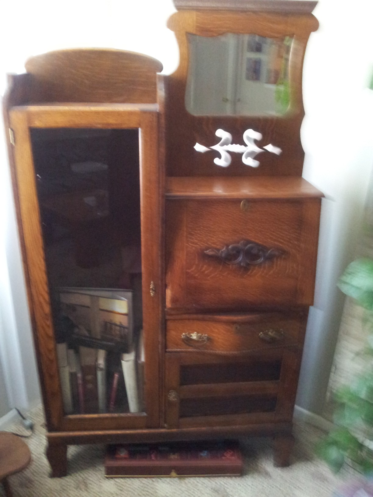 Oak Secretary For Sale Antiques Com Classifieds