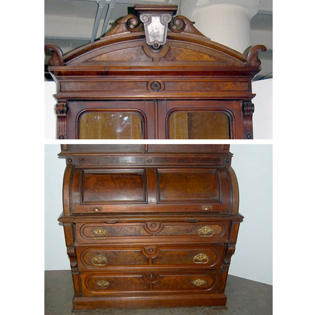 Skandia Furniture Secretary Desk Secretary Oak Antiques Us