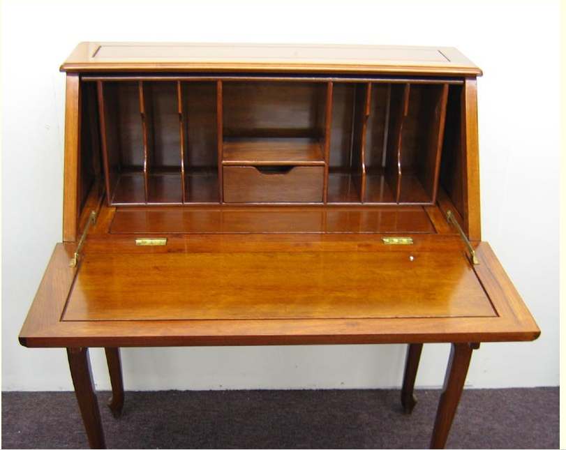 Chinese Solid Rosewood Folding Writing Desk For