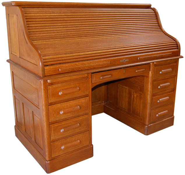 beautiful antique american oak rolltop desk for sale classifieds. Black Bedroom Furniture Sets. Home Design Ideas