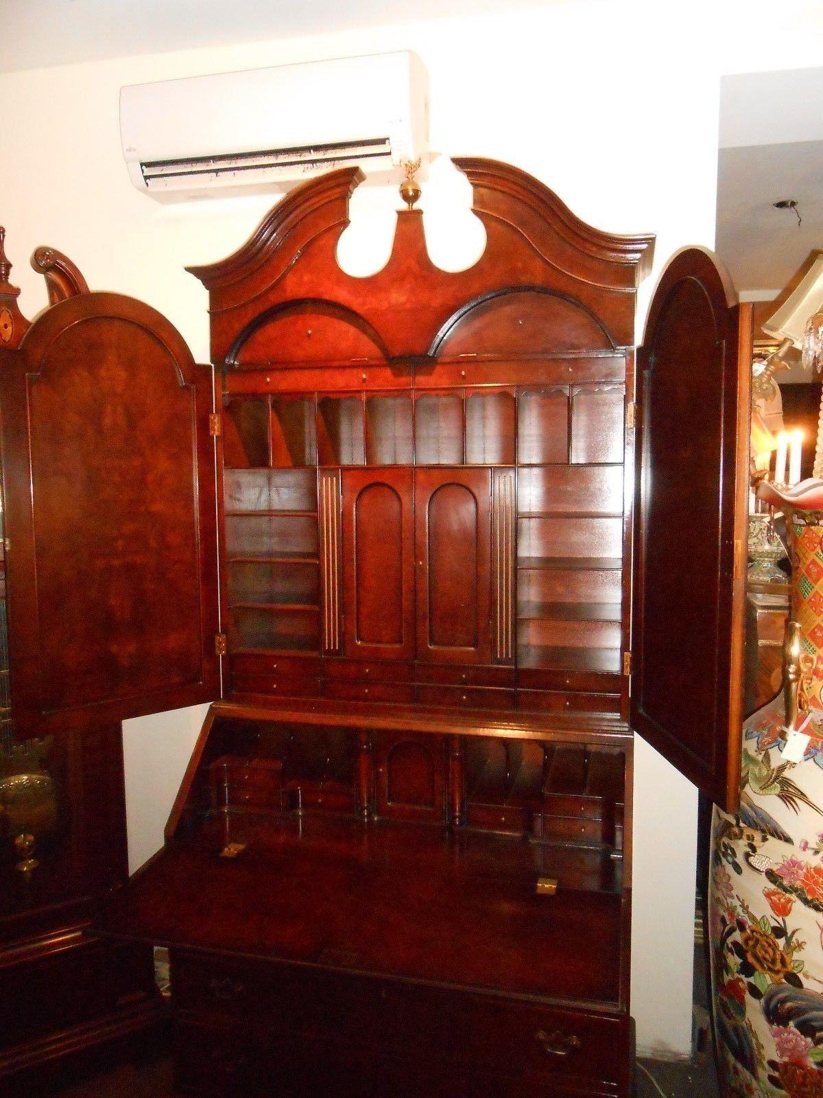 Antique Mahogany Secretary Circa 1930 S For Sale