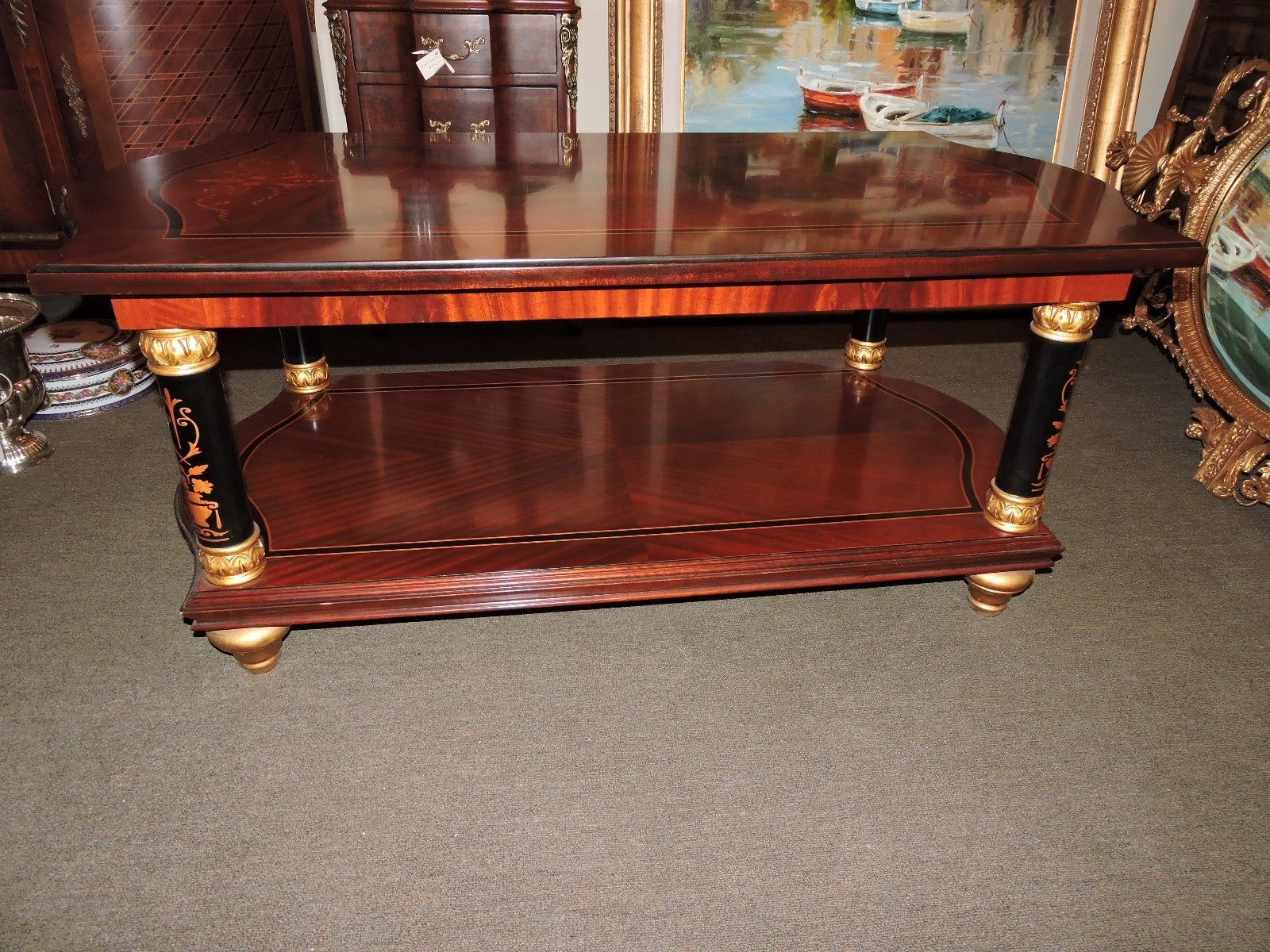 Italian Mahogany Coffee Table For Sale Classifieds