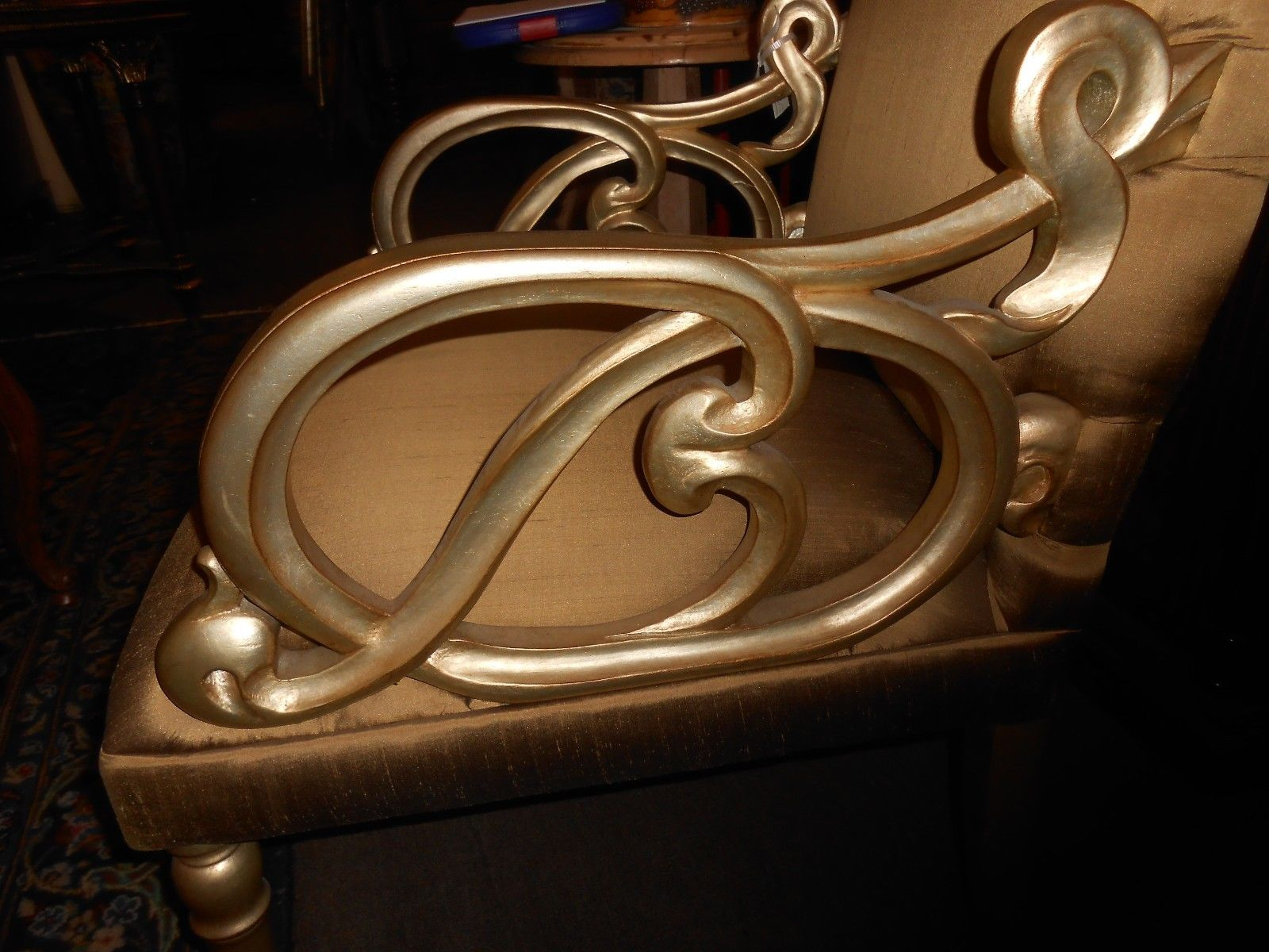christopher guy furniture prices. beautiful guy christopher guy handcarved wood with a scroll pattern that has been silver  leafed and upholstered silk fabric this manufacturer specializes in  to furniture prices