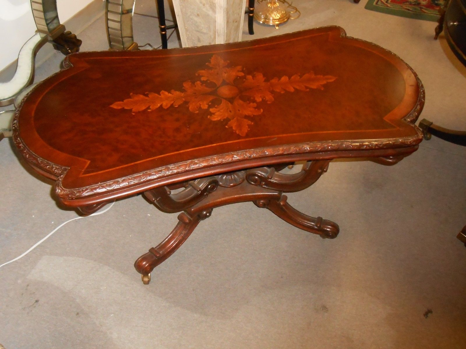 Antique style John Richards Coffee Table For Sale