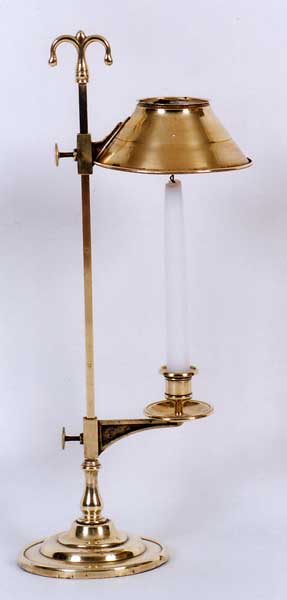 Fine Mid 19th C French Adjustable Brass Candle Lamp For Sale Antiques Com Classifieds