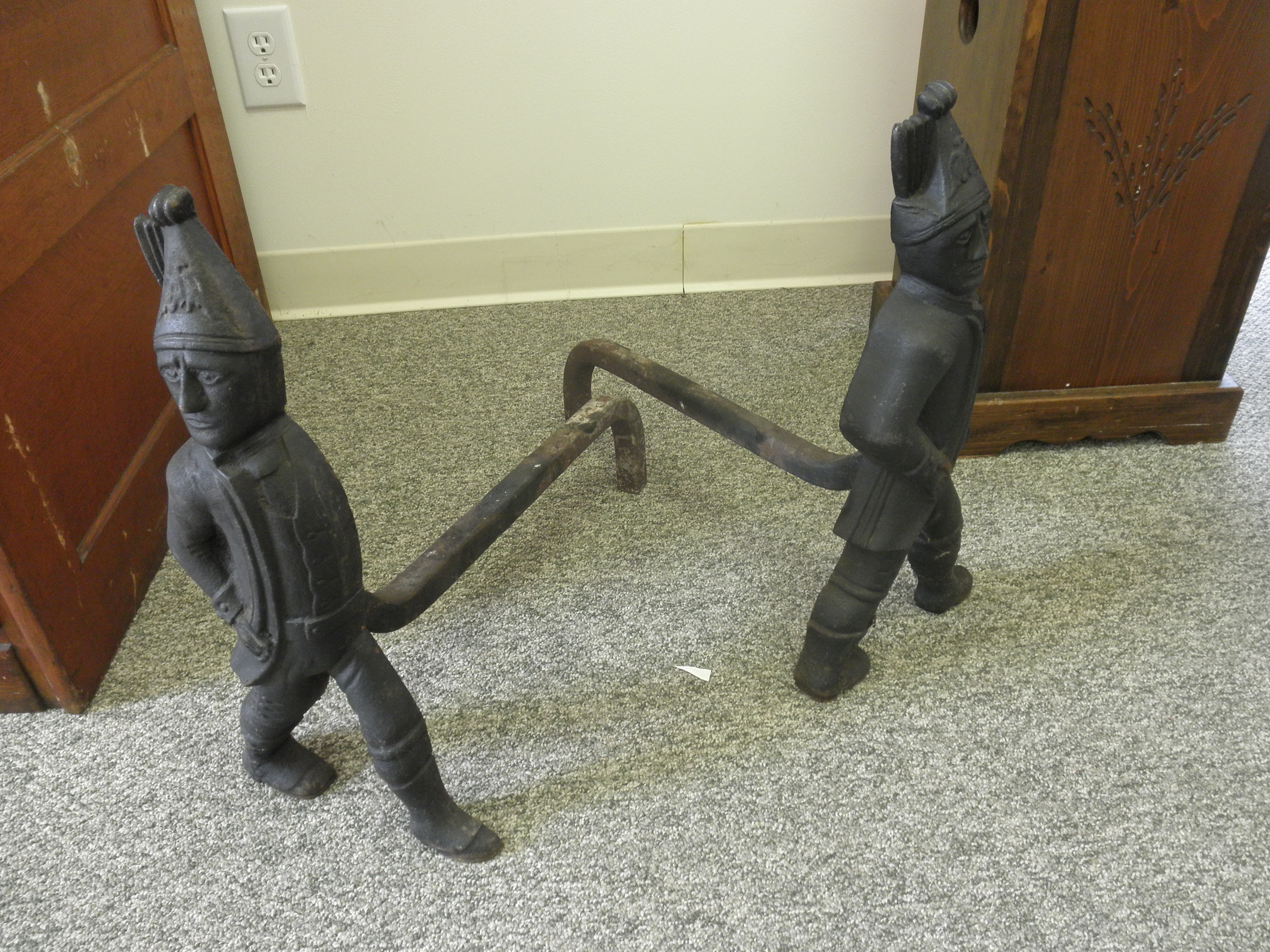 Fireplace andirons For Sale | Antiques.com | Classifieds