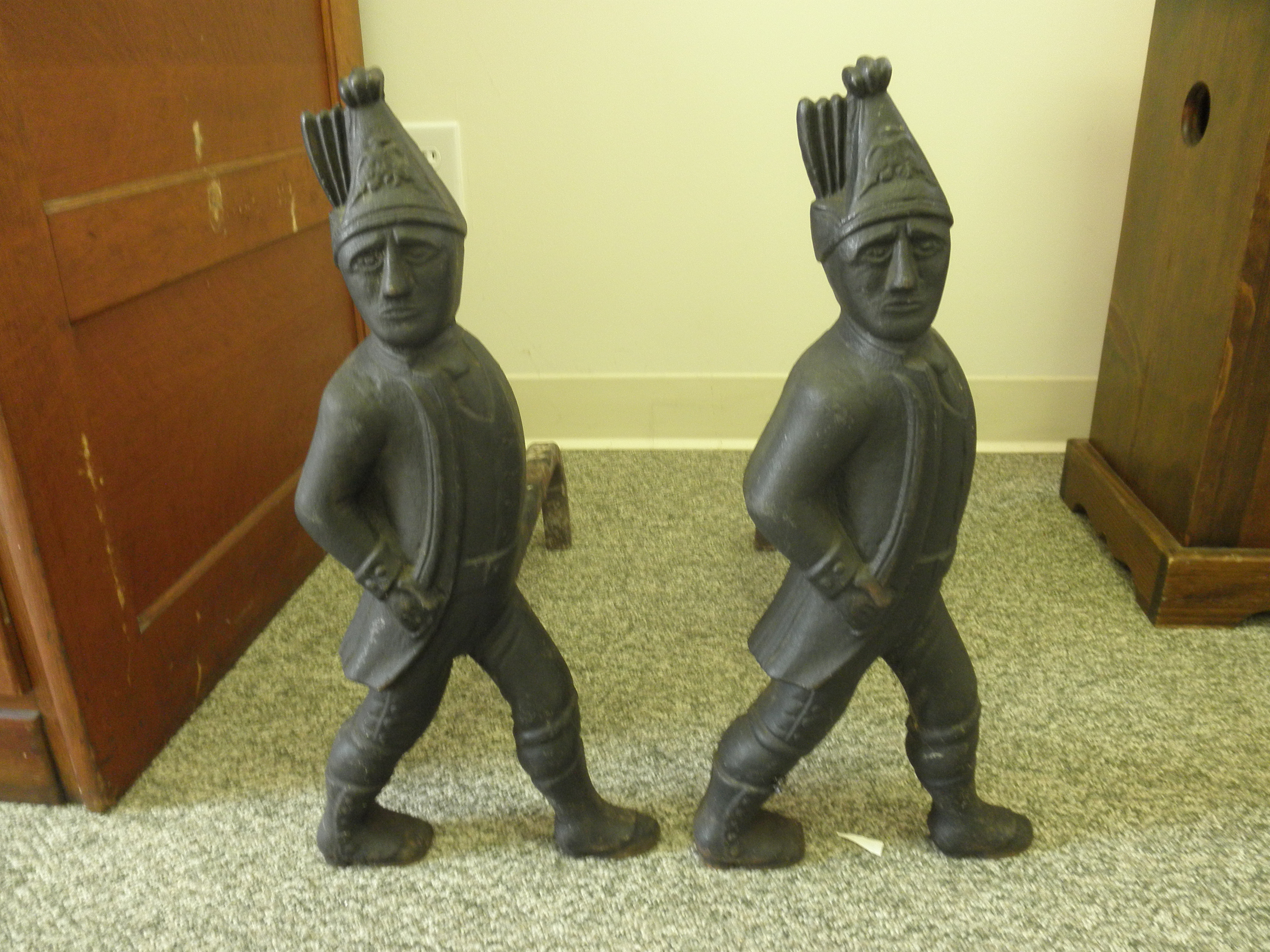 fireplace andirons for sale
