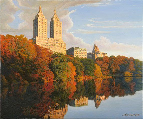 Central Park Autumn ''autumn in Central Park''