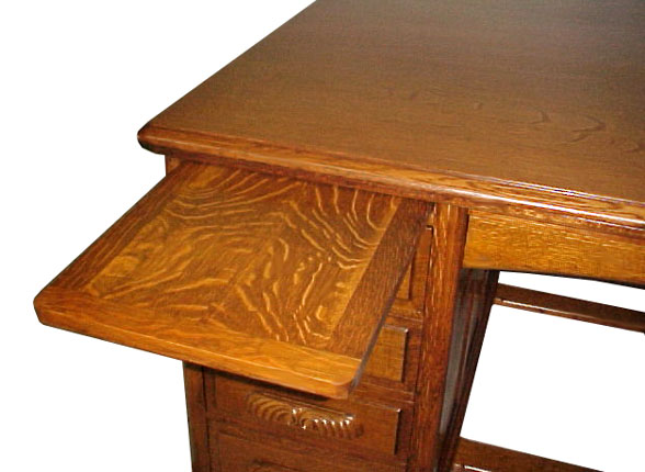 Beautiful 19th C. Oak Partners Desk - For Sale - Beautiful 19th C. Oak Partners Desk For Sale Antiques.com