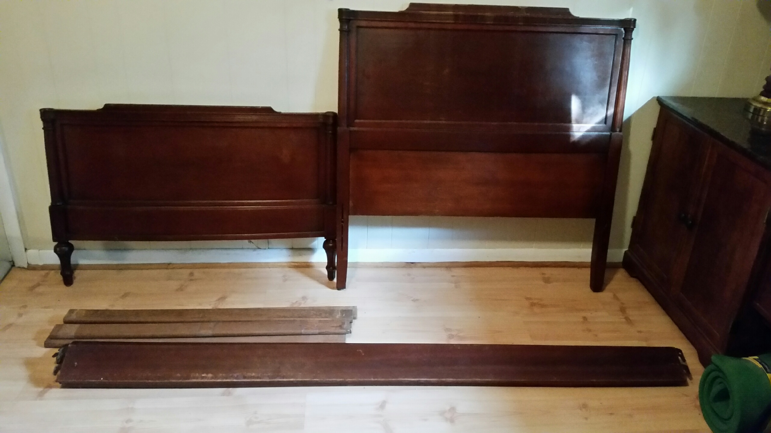 Mahogany Association Bedroom Set For Sale