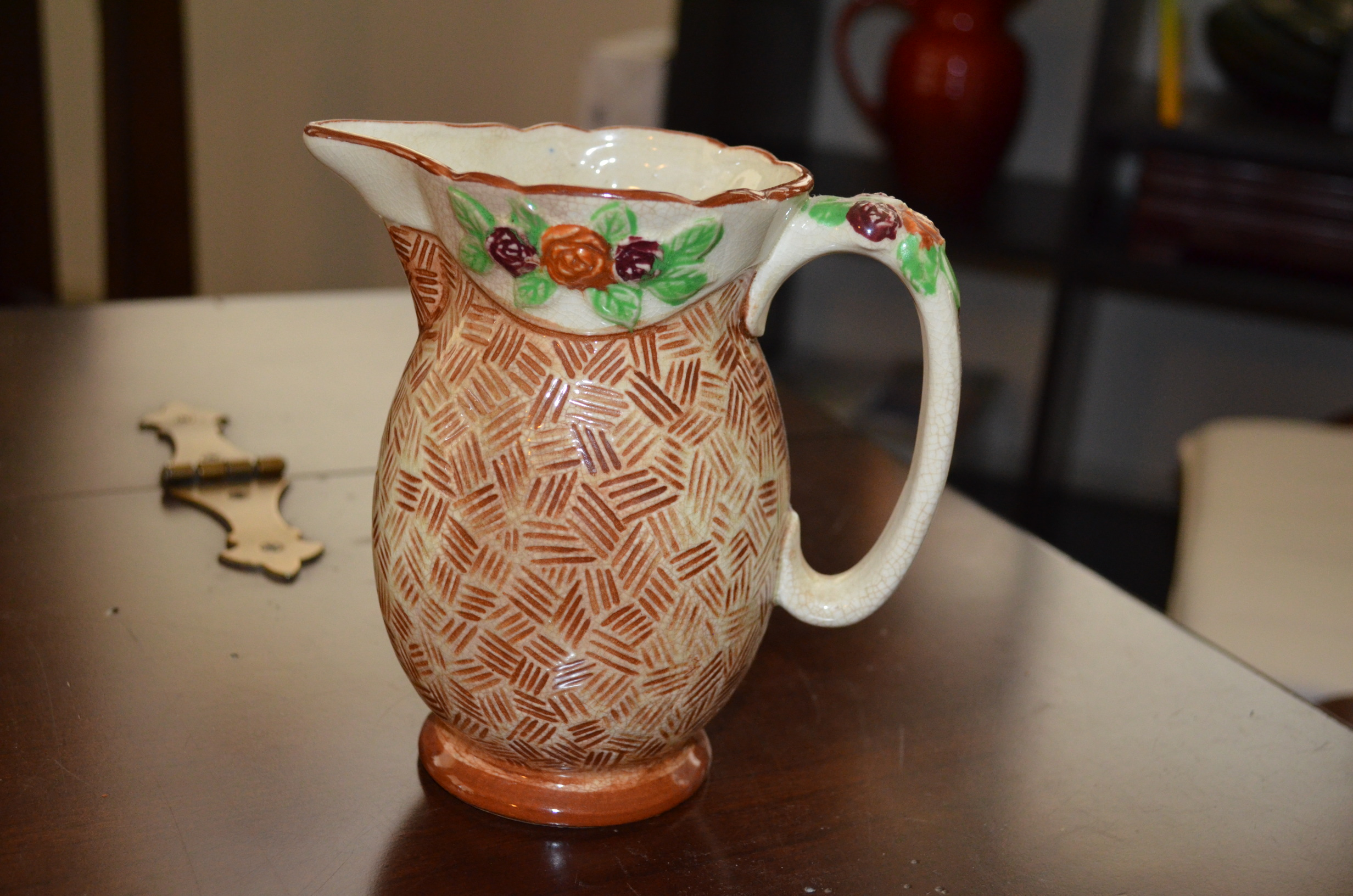 Arts Crafts Pitcher
