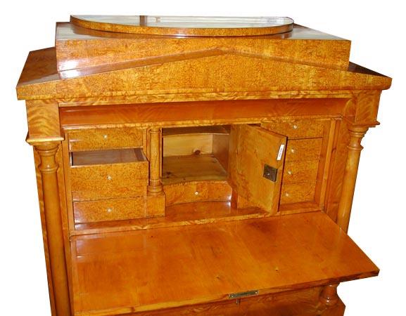 Country of Origin:European Style:Biedermeier Condition:Mint Year:1830Rare  Biedermeier style antique secretary desk. Biedermeier furniture was made in  the ... - Rare Biedermeier Style Antique Secretary Desk For Sale Antiques